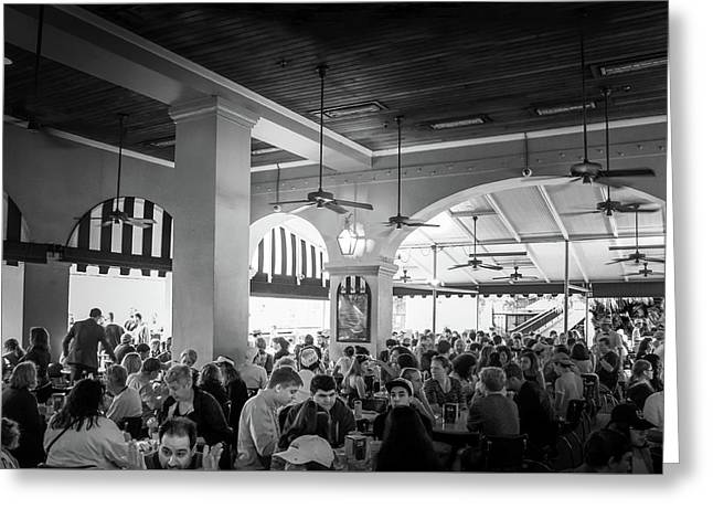 New Orleans,  Cafe Du Monde Coffee Shop Stand  Greeting Card