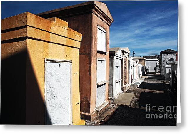 New Orleans Cemetery Greeting Card