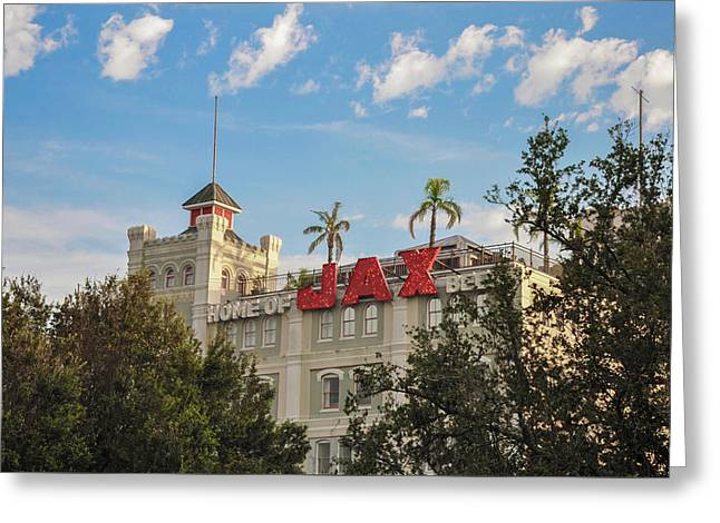 New Orleans - Jax Brewery Greeting Card by Bill Cannon