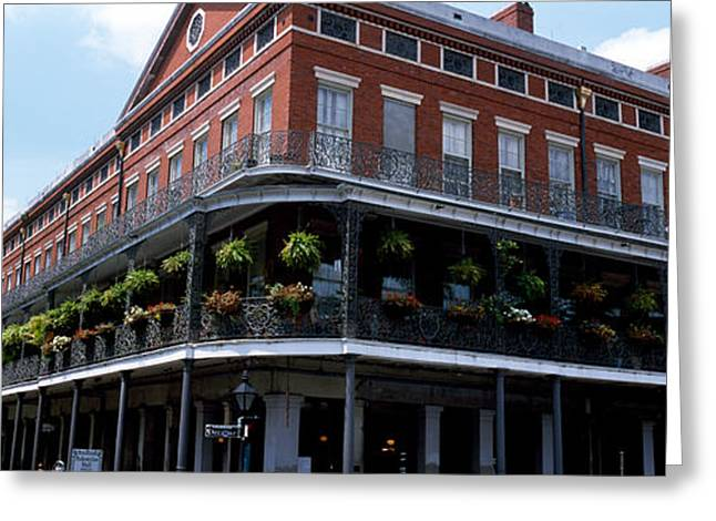 New Orleans La Greeting Card by Panoramic Images