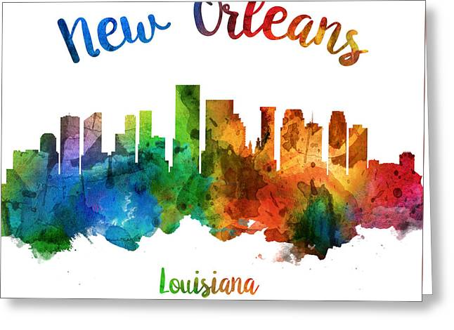 New Orleans Louisiana 25 Greeting Card