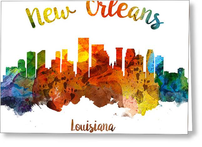 New Orleans Louisiana 26 Greeting Card