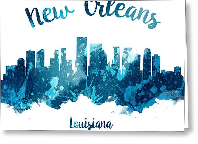 New Orleans Louisiana 27 Greeting Card by Aged Pixel