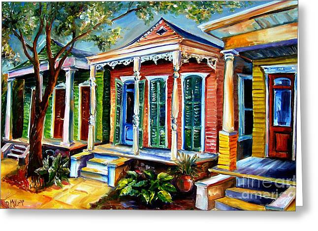 New Orleans Plain And Fancy Greeting Card