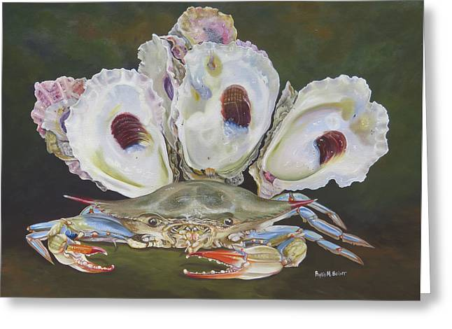 New Orleans Still Life Greeting Card by Phyllis Beiser