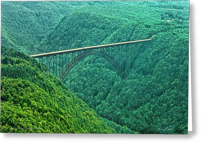New River Gorge Bridge Greeting Card
