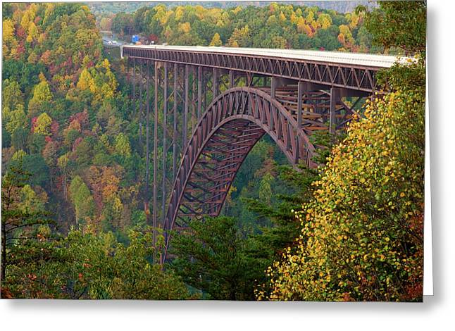 New River Gorge Bridge Greeting Card