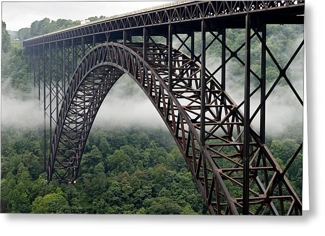 New River Gorge Bridge West Virginia Greeting Card