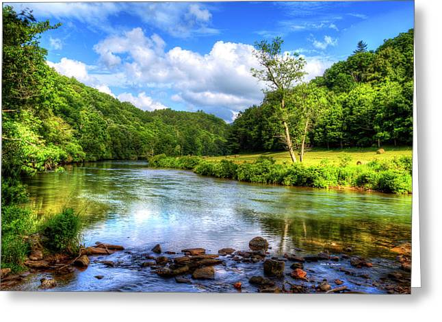 New River Summer Greeting Card