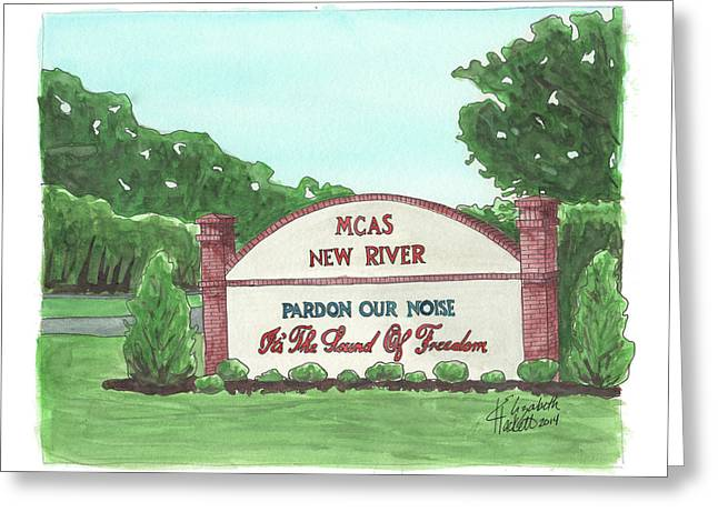 New River Welcome Greeting Card