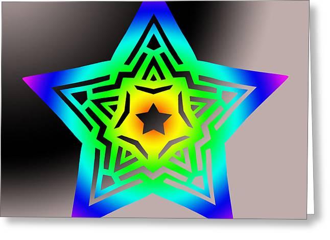 New Star 1b Greeting Card by Eric Edelman