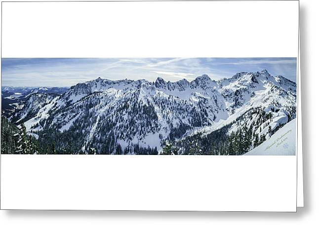 Alpental Backcountry Greeting Card