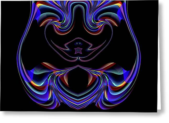 New Website Extension, Updated Logo Greeting Card by Visual Artist Frank Bonilla