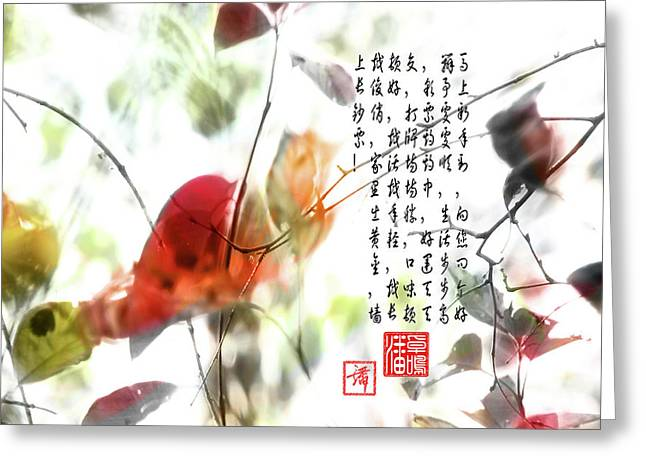 New Year Greeting Greeting Card
