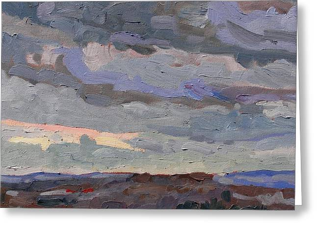 New Year Stratocumulus Greeting Card by Phil Chadwick