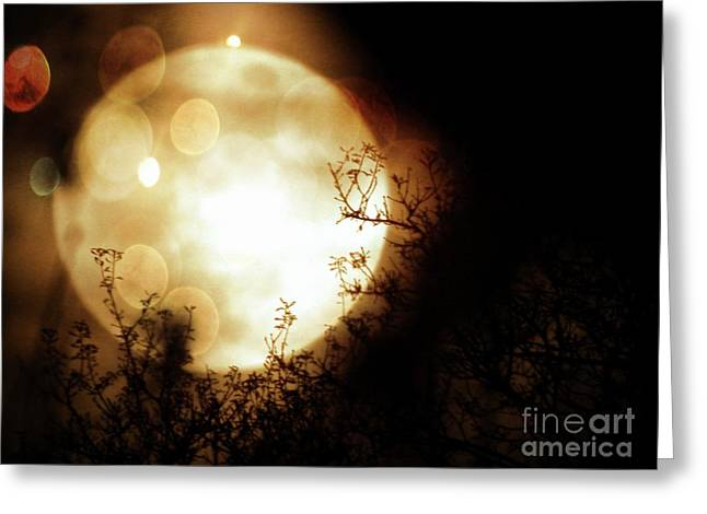 New Year Super Moon Greeting Card