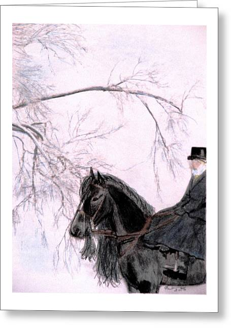 New Year's Resolution Greeting Card by Angela Davies