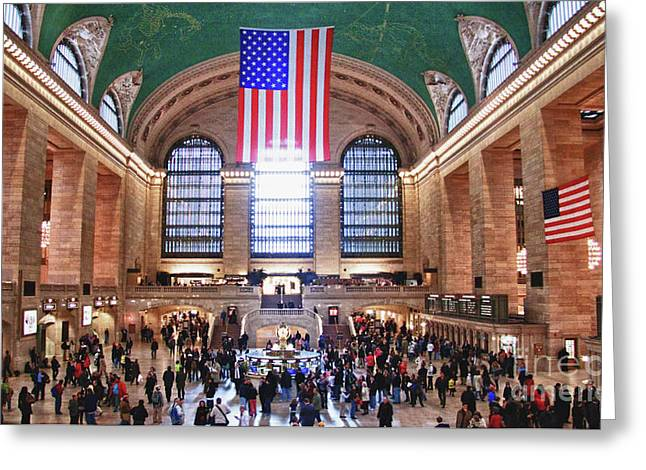 New York - Grand Central Terminal Greeting Card