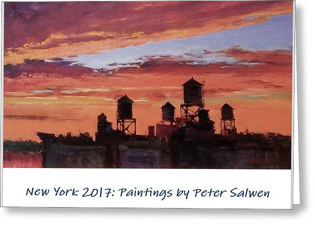 New York 2017 Greeting Card by Peter Salwen