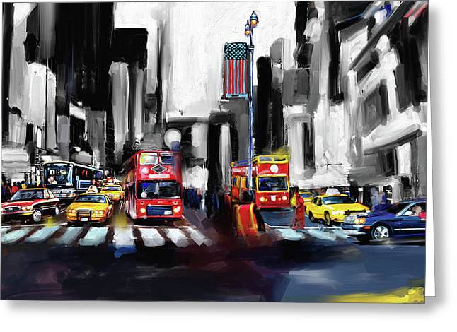New York 653 2 Greeting Card