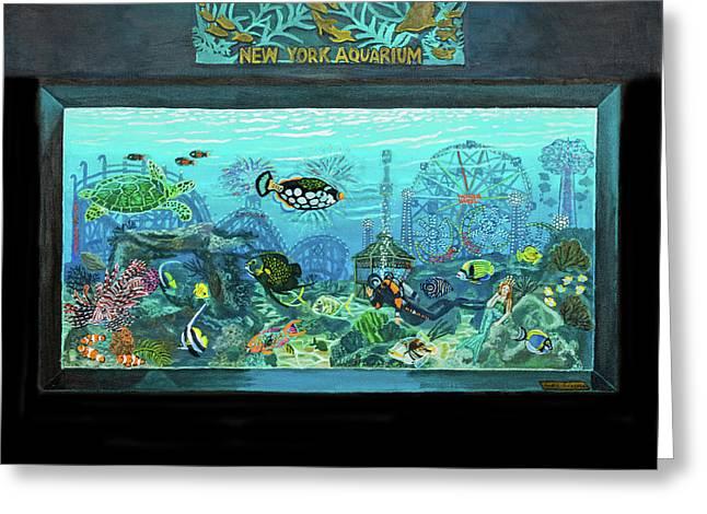 New York Aquarium Greeting Card