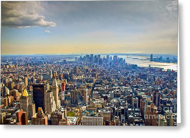 New York City - Manhattan Greeting Card