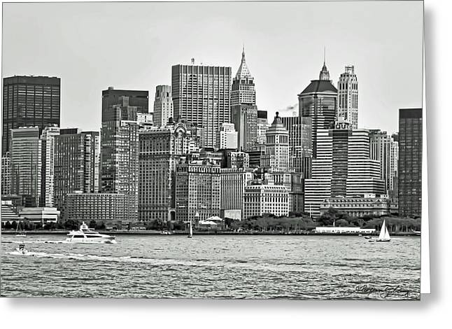New York City Greeting Card by Alexander Mendoza