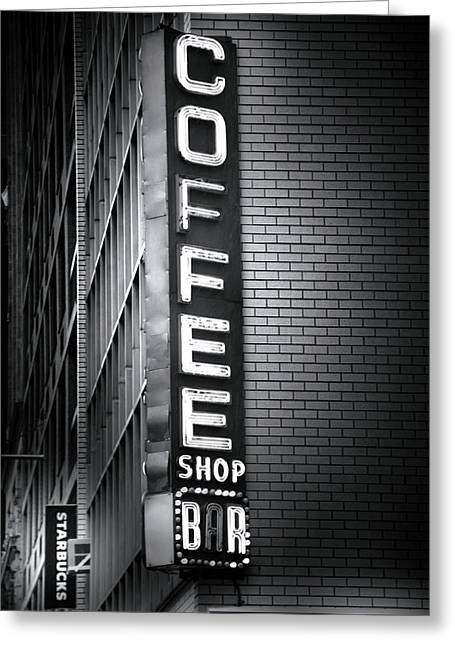 New York City Coffee House Greeting Card