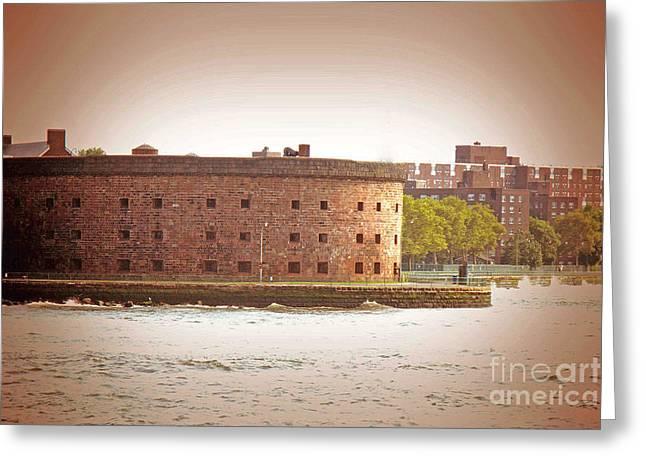 New York City - Governer's Island Greeting Card