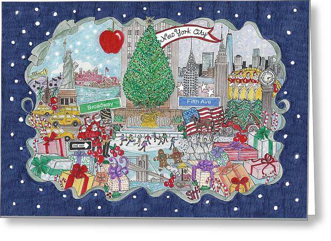 New York City Holiday Greeting Card