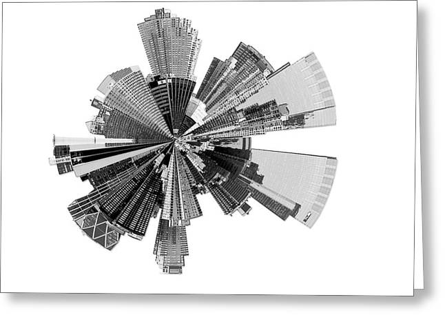New York City Lily Greeting Card by Shawn Young