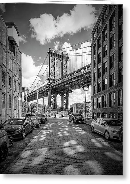 New York City Manhattan Bridge Greeting Card