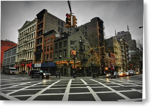 New York City - Soho 005 Greeting Card by Lance Vaughn