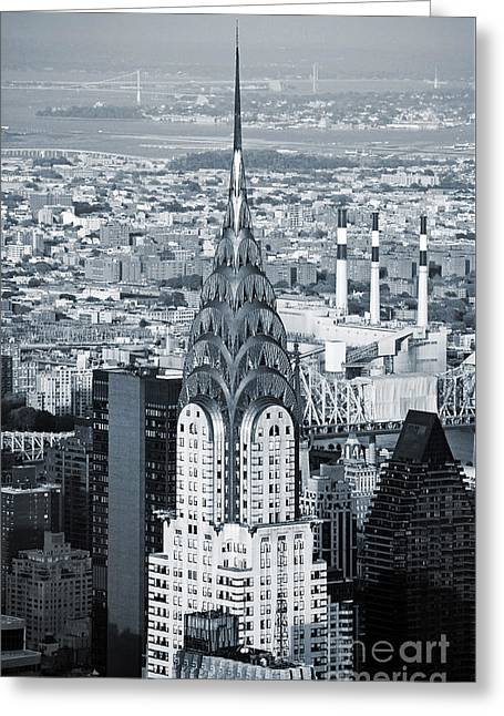 New York City - Usa - Chrysler Building Greeting Card