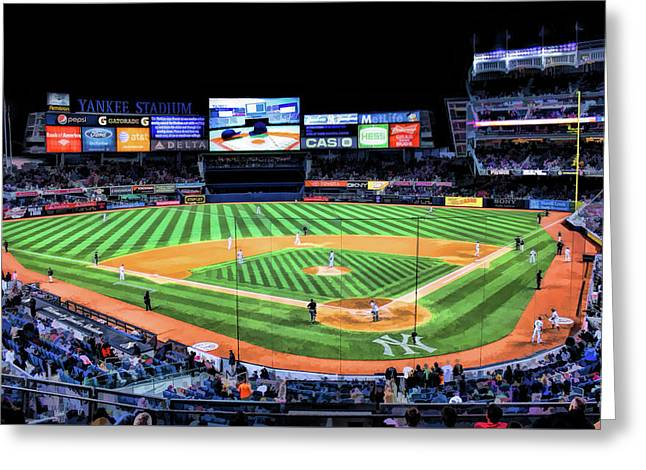 New York City Yankee Stadium Greeting Card