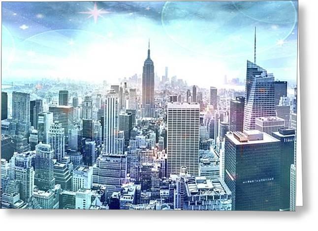 New York Fairytales Greeting Card