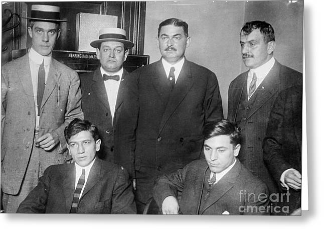 New York Gangsters, 1912 Greeting Card by Granger