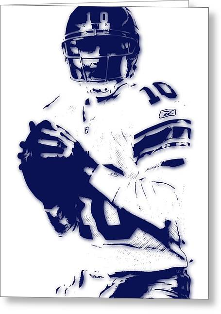 New York Giants Eli Manning 2 Greeting Card