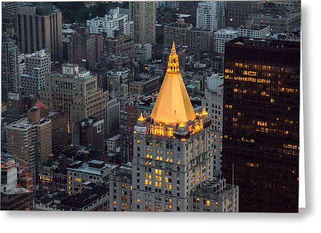 New York Life Insurance Building Greeting Card