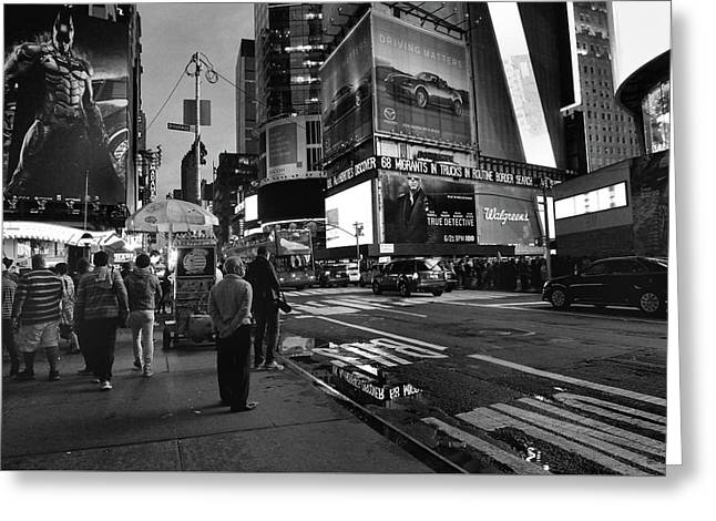 Greeting Card featuring the photograph New York, New York 1 by Ron Cline
