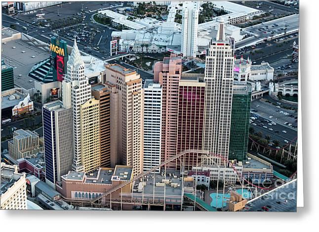 New York-new York Hotel And Casino Greeting Card
