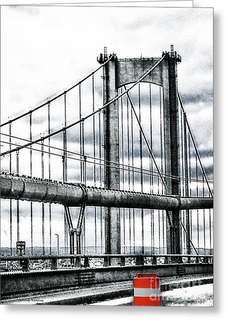 New York, Ny Greeting Card by Gerlinde Keating - Galleria GK Keating Associates Inc
