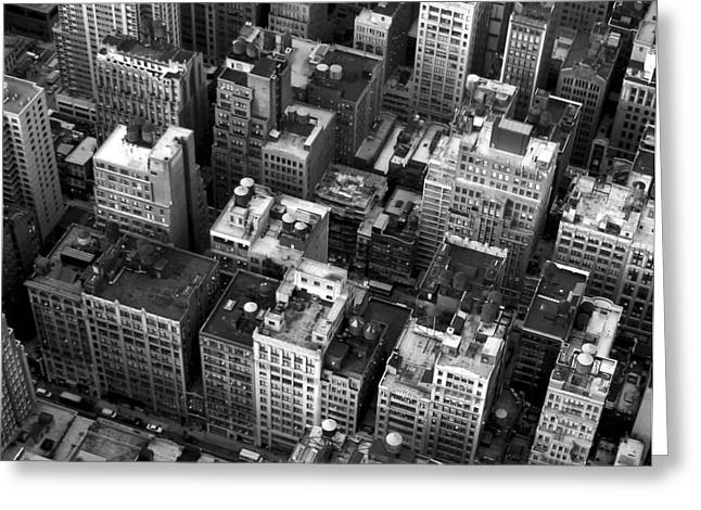New York Rooftops Greeting Card by William  Todd