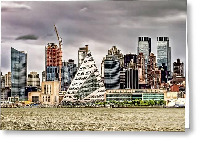 New York Skyline Buildings Greeting Card