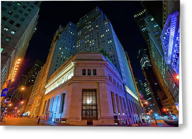 New York Stock Exchange Greeting Card