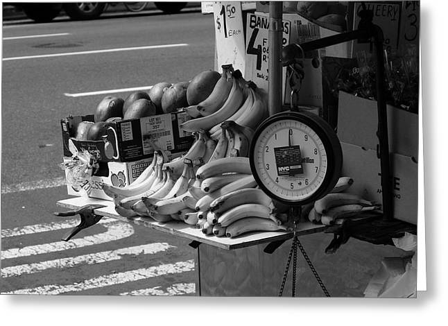 New York Street Photography 62 Greeting Card by Frank Romeo
