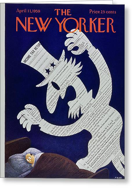 New Yorker April 11 1959 Greeting Card