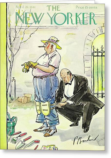 New Yorker April 26 1941 Greeting Card