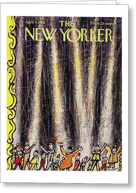 New Yorker April 4 1959 Greeting Card