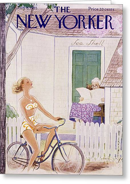 New Yorker August 6 1955 Greeting Card